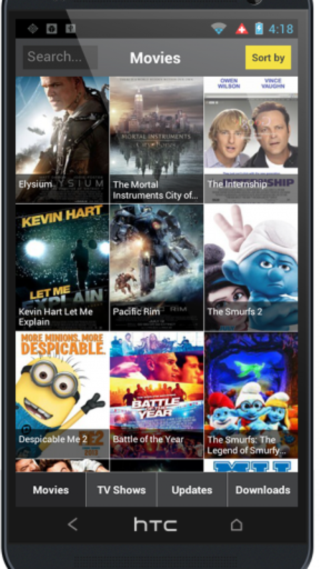 Showbox 4.13 Screen 1