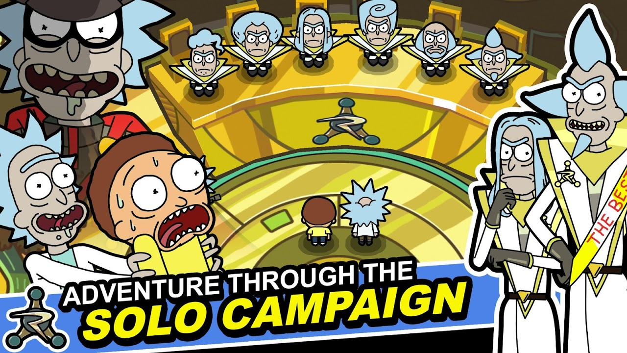 Android Pocket Mortys Screen 2