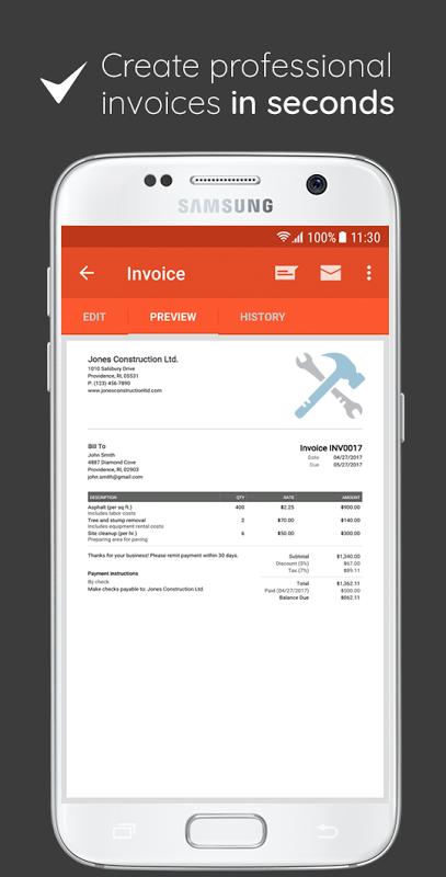 Invoice & Estimate on the Go 0.1.283 Screen 2