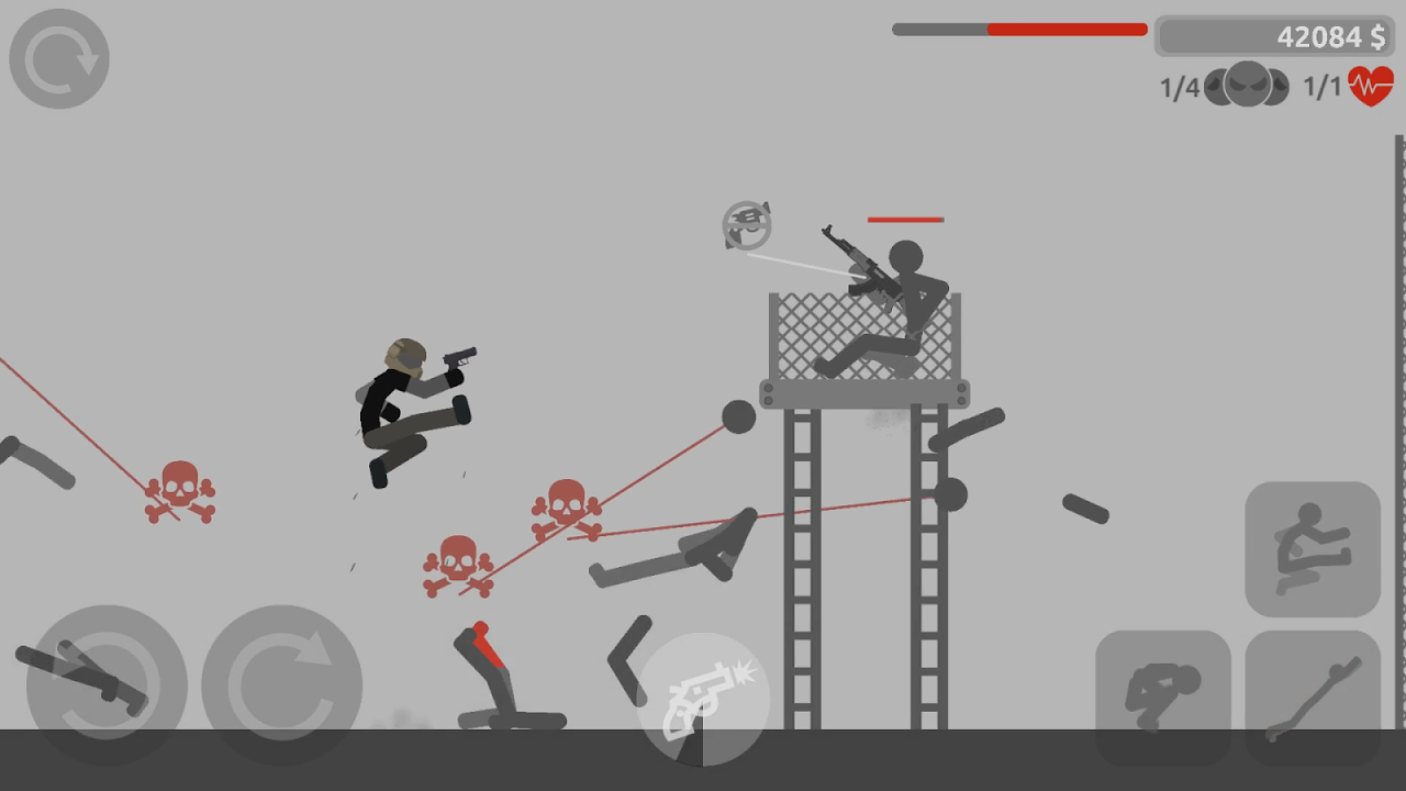 Stickman Backflip Killer 4 0.1 Screen 5
