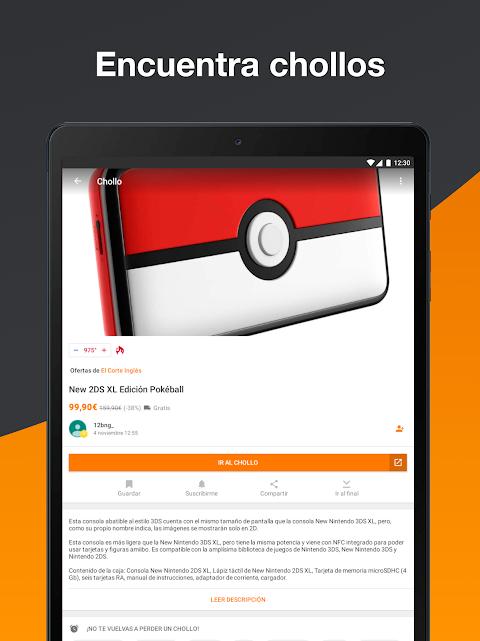 Android Chollometro – Chollos, Black Friday, ofertas Screen 3