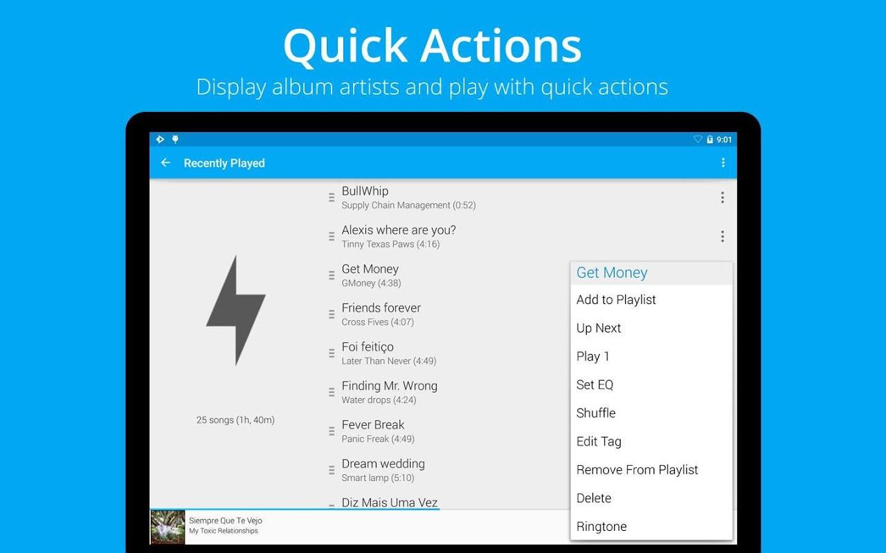Android Rocket Player Premium Audio Screen 10