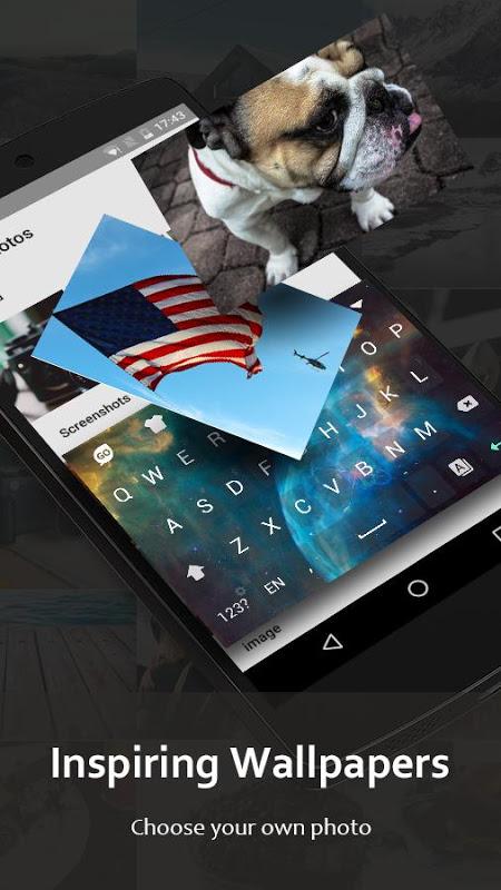 Android GO Keyboard - Emoji, Sticker Screen 4