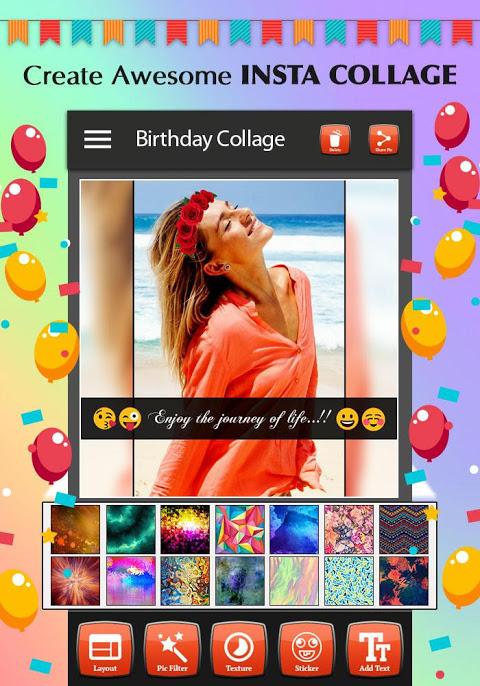 Happy Birthday Photo Collage 1.4 Screen 7