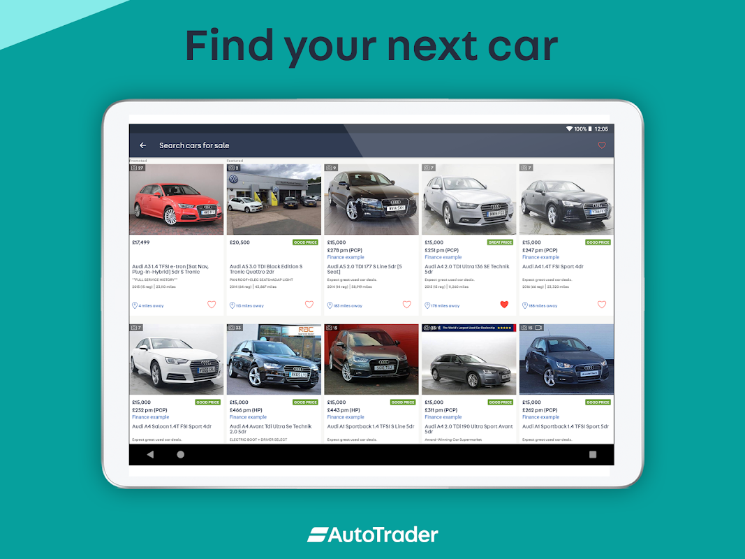 Android Auto Trader - Buy, sell and value new & used cars Screen 7