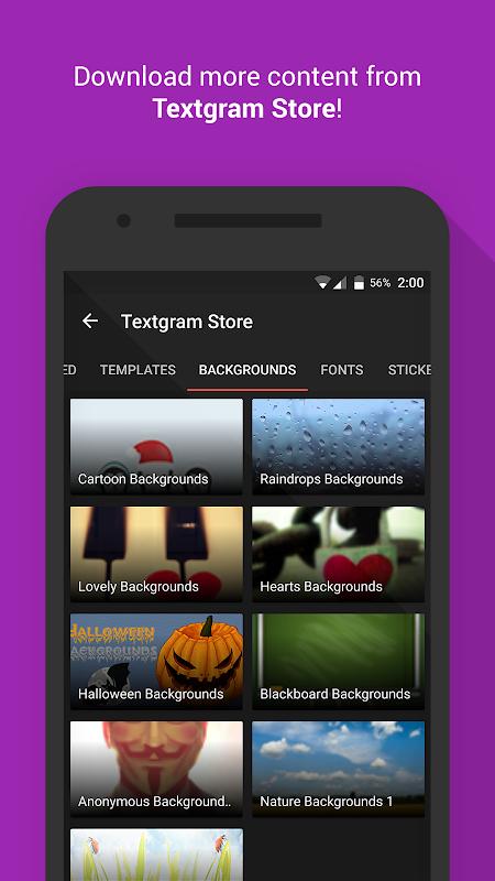 Android Textgram - write on photos Screen 7