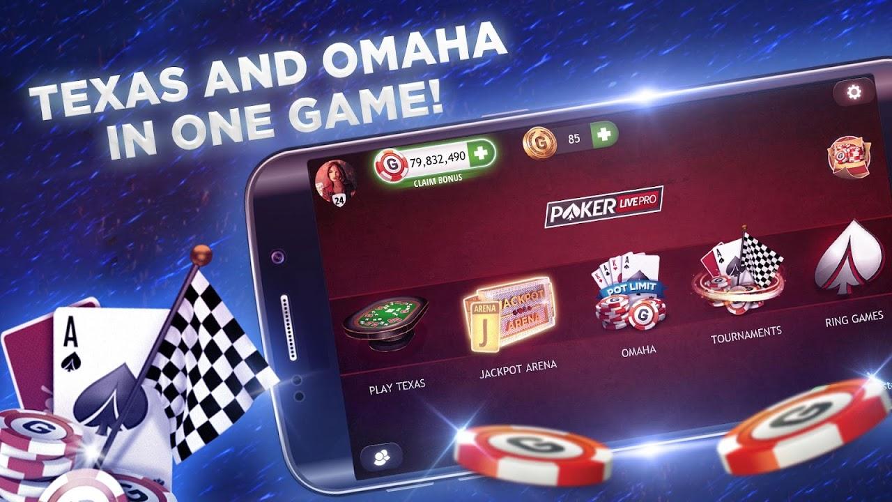 Poker Texas Holdem Live Pro 6.3.1 Screen 9