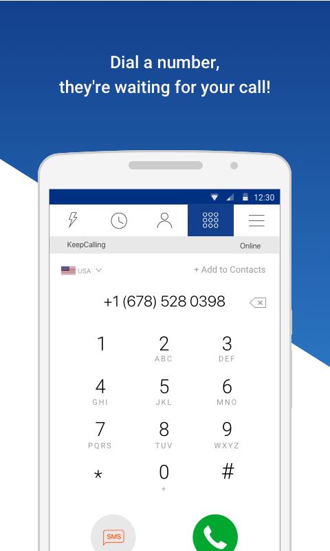 KeepCalling – Best Calling App 3.5.2 Screen 2