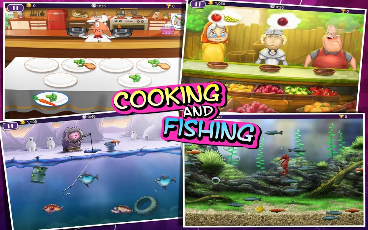 Android 101-in-1 Games HD Screen 7