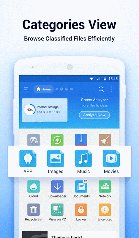 Android ES File Explorer/Manager PRO Screen 2