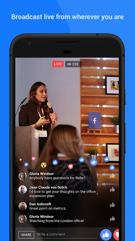 Android Workplace by Facebook Screen 3