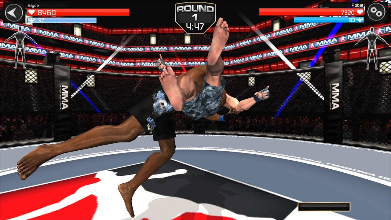 Android MMA Fighting Clash Screen 2