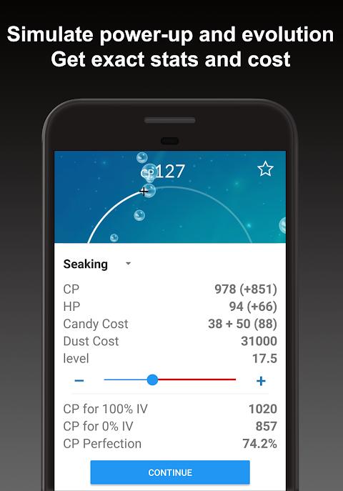 Poke Genie - Safe IV Calculator 4.5.3 Screen 3