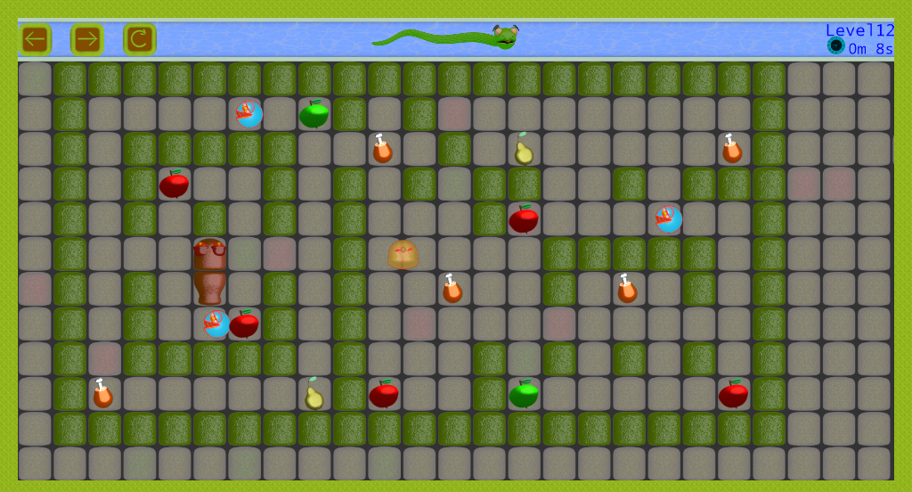 Android Snake vs Monsters Screen 2