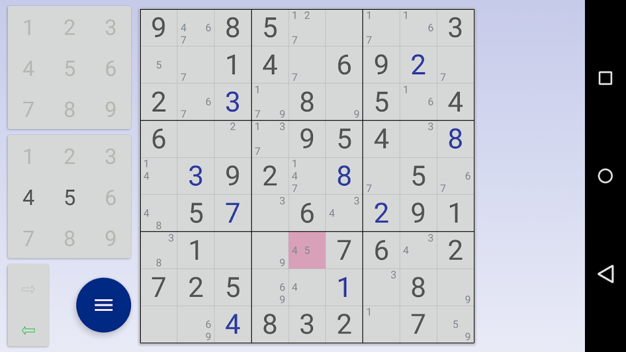 Sudoku: 3 in 1 1.7.3 Screen 6