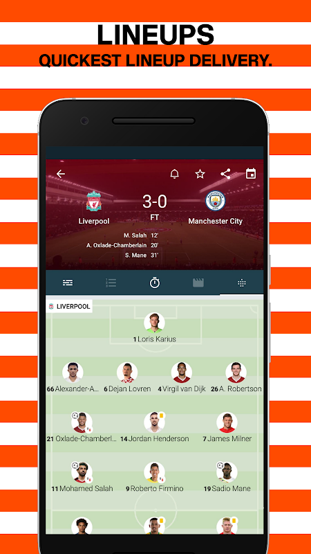 Forza Football - Live scores 4.2.8 Screen 2
