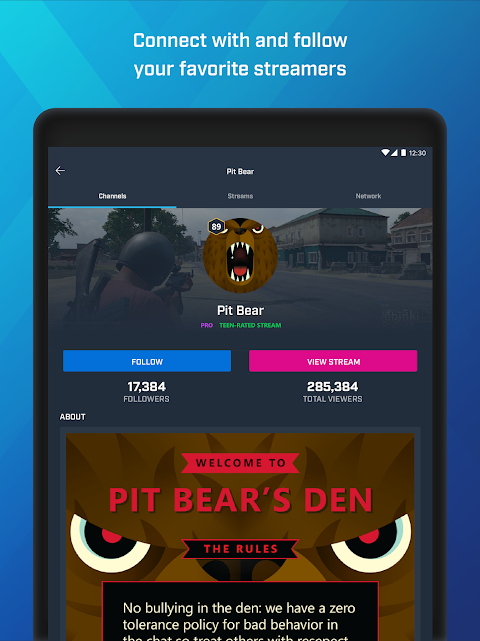 Mixer – Interactive Streaming 3.4.1 Screen 7