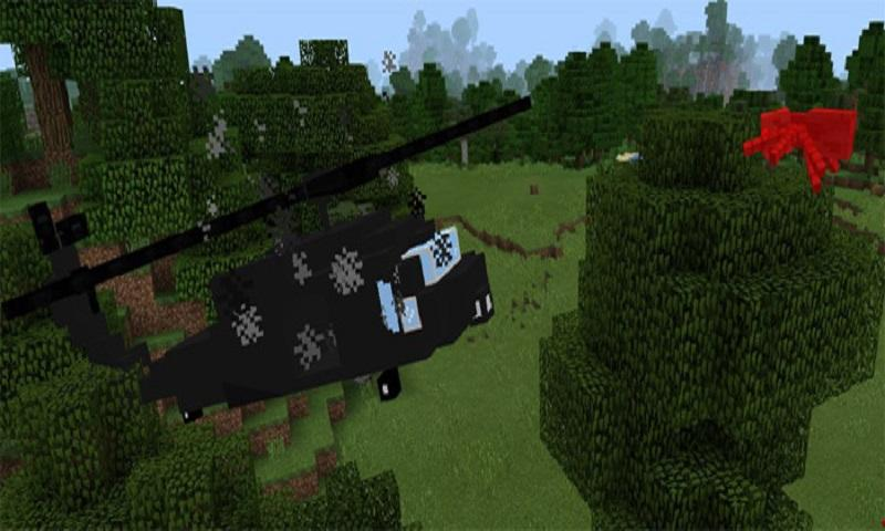 BlackHawk addon for MCPE 1.0 Screen 2