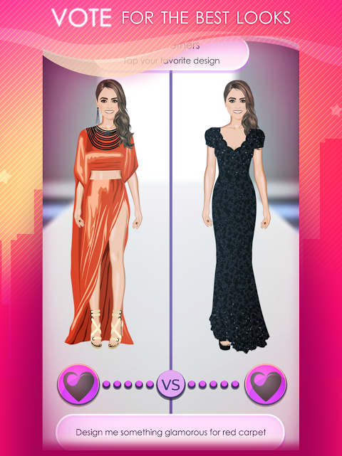 Android World of Fashion - Dress Up Screen 8