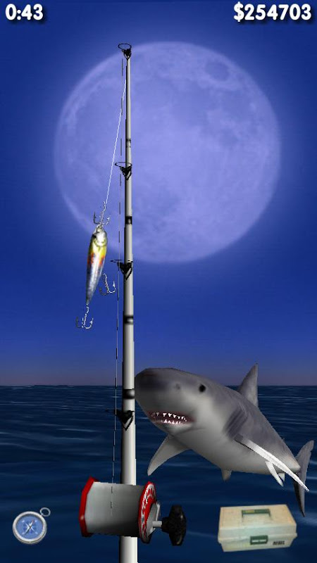 Android Big Night Fishing 3D Screen 1