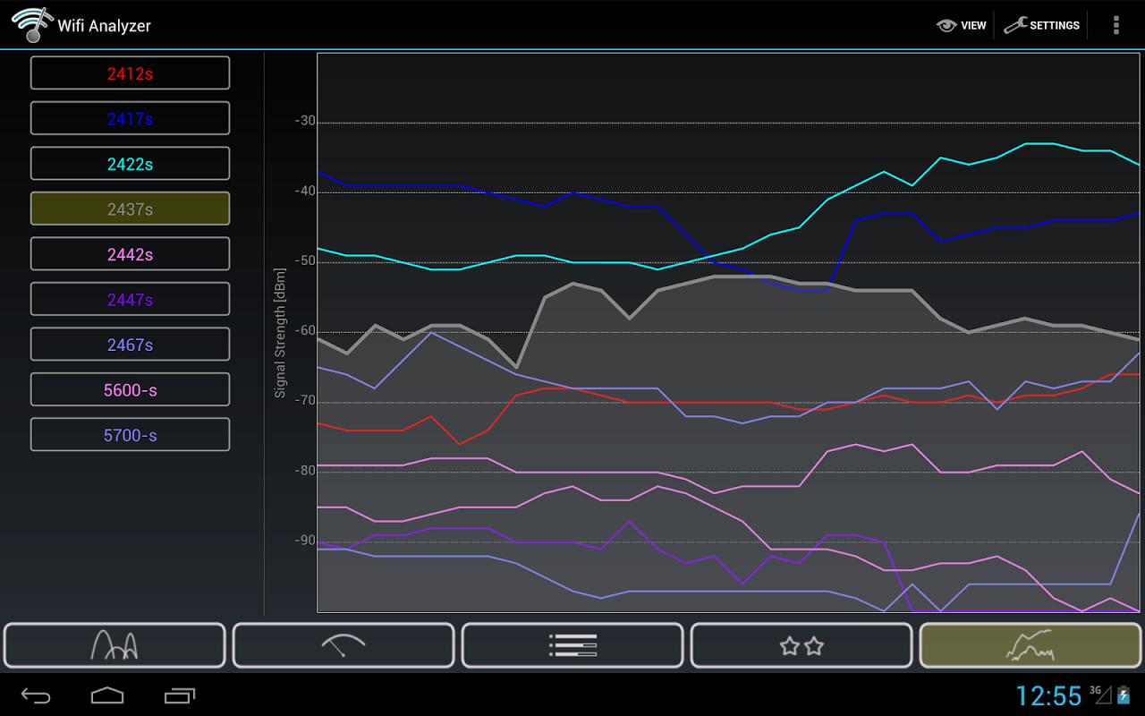 Wifi Analyzer 3.5.1 Screen 7