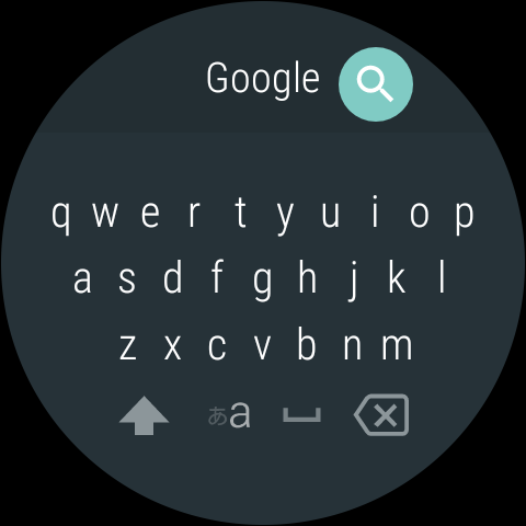 Android Google Japanese Input Screen 18