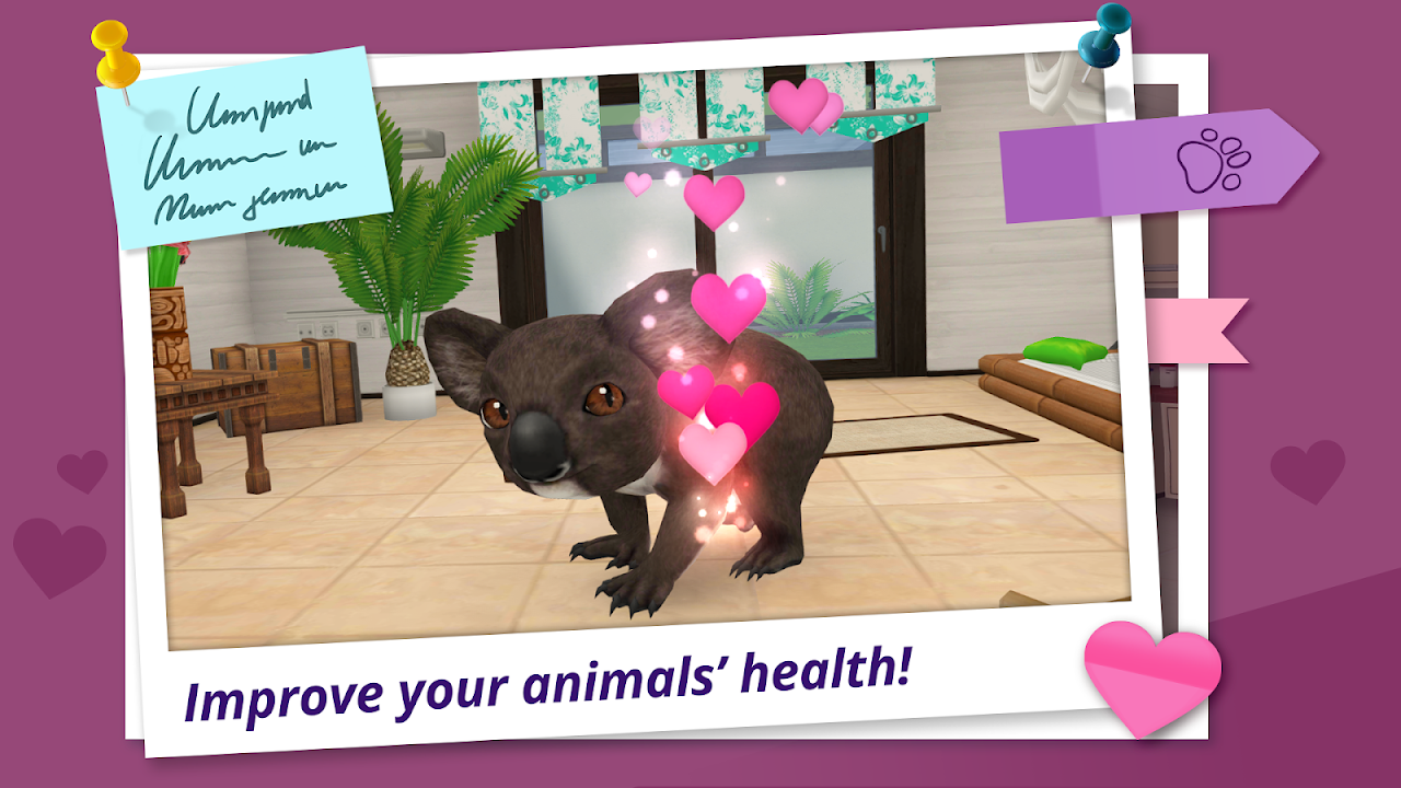 Android Pet World – My Animal Hospital – Care for animals Screen 1