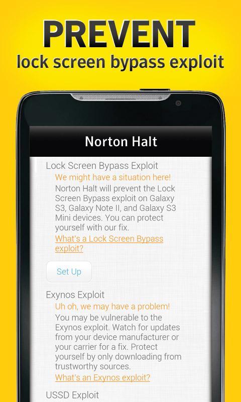 Norton Halt 5.6.0.173 Screen 2