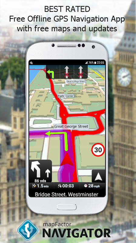 MapFactor GPS Navigation Maps 5 0 35 APK Download by