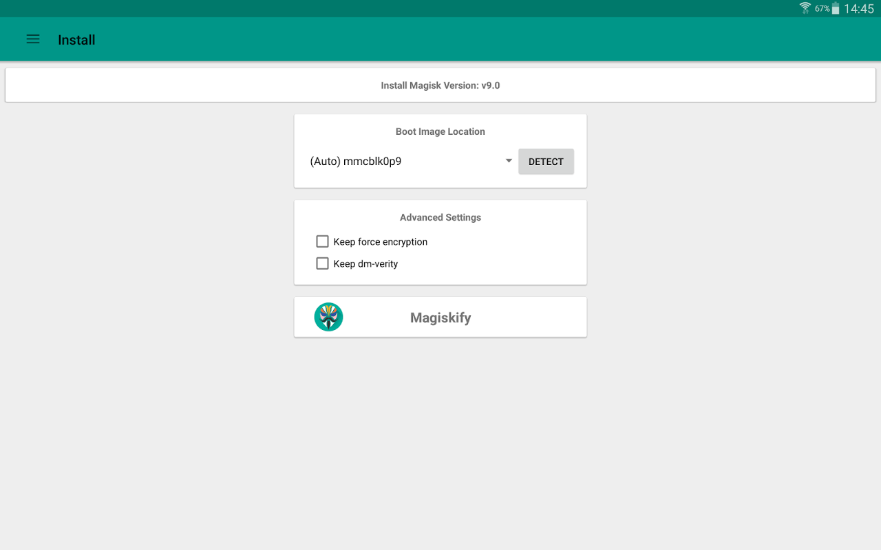 Magisk Manager 5.6.4 Screen 6