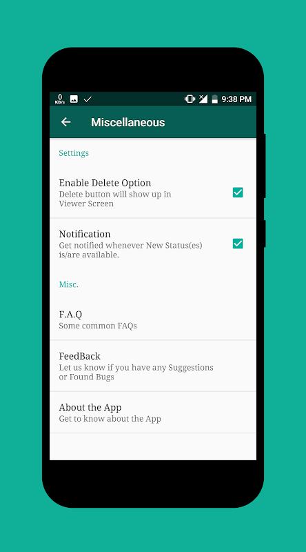 Status Saver 2.24 (Beta) Screen 5