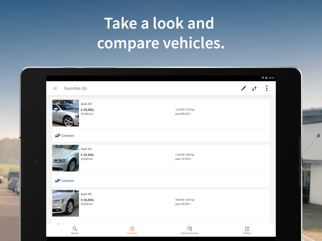 Android AutoScout24 - used car finder Screen 5