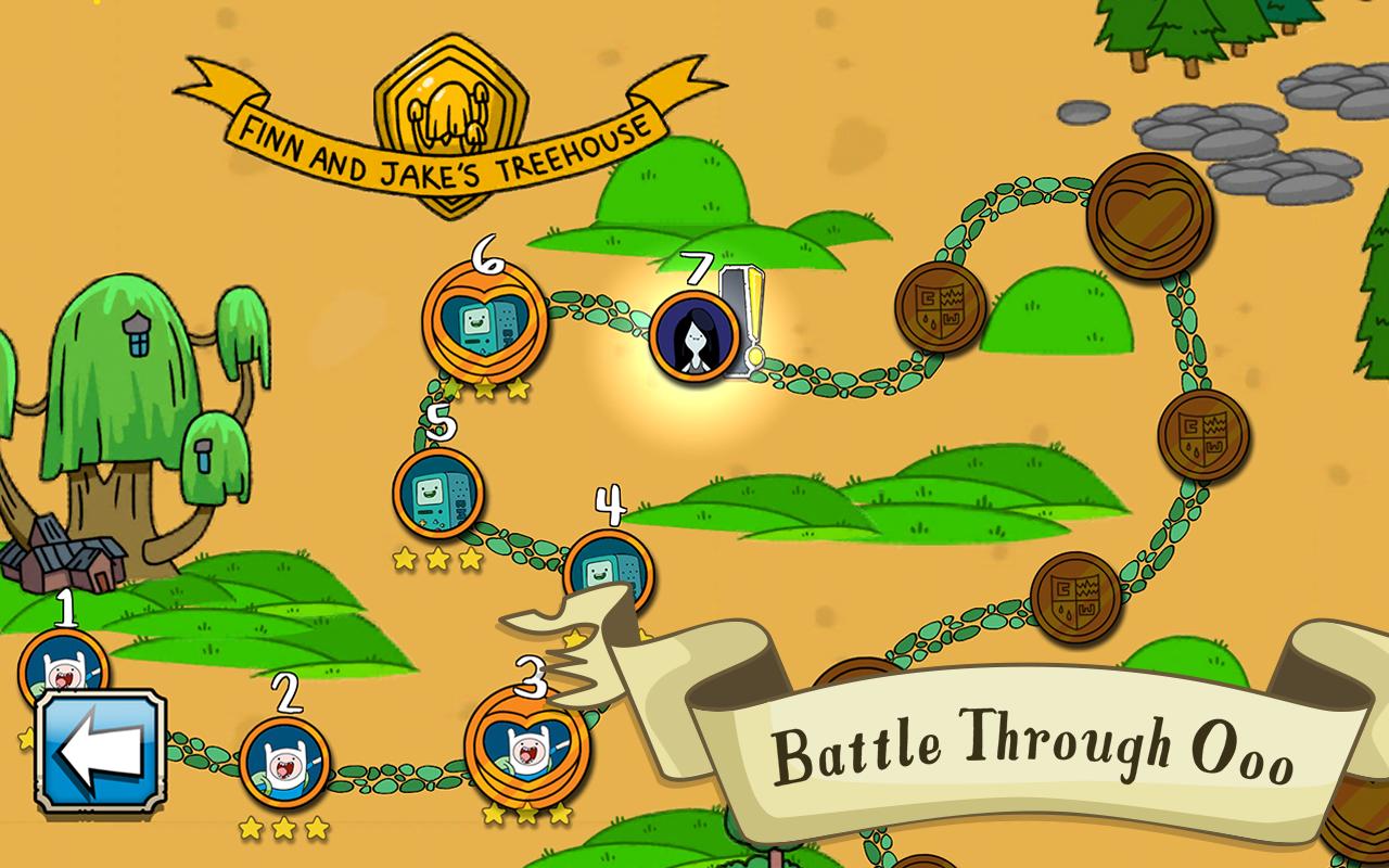 Android Card Wars Kingdom Screen 1