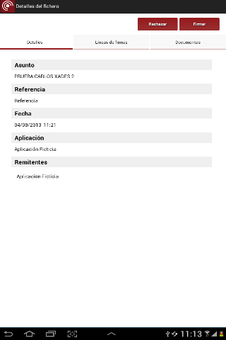 Port@firmas movil 1.3.3 Screen 5