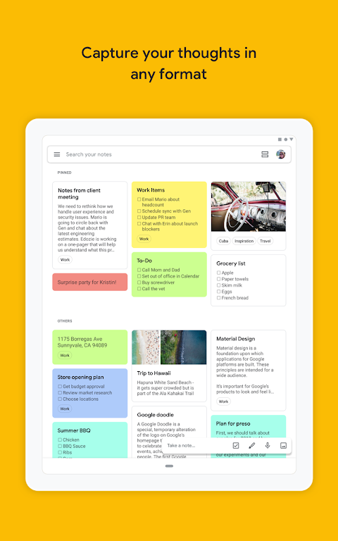 Google Keep - Notes and Lists 5.0.441.03.40 Screen 10