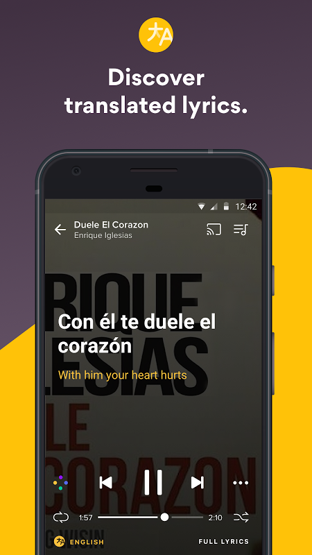 Musixmatch Lyrics 6.7.5 Screen 2