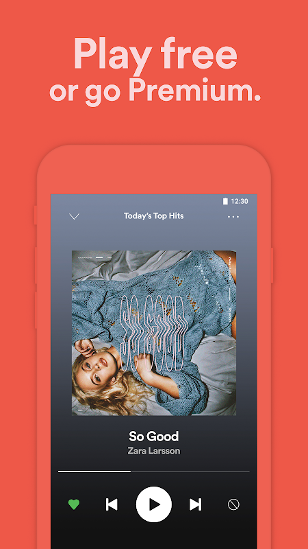 Android Spotify Music Screen 8