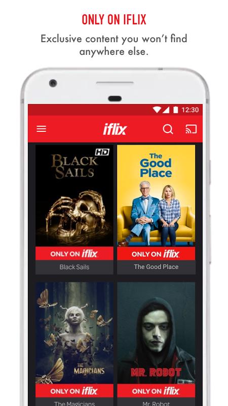 iflix 2.22.0-4035 Screen 2