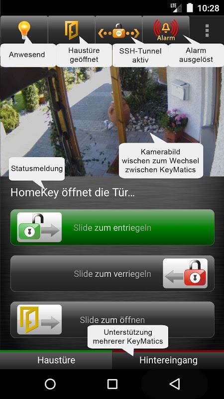HomeKey 1.72 Screen 2