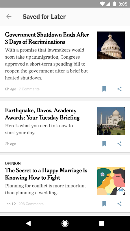 NYTimes - Latest News 6.20.8 Screen 4