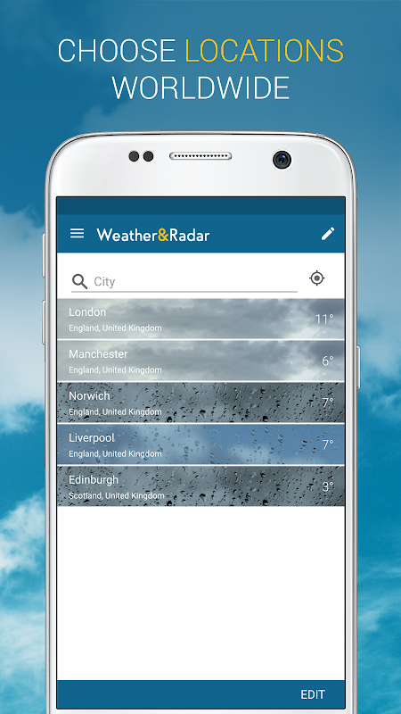Weather & Radar UK 4.41.2 Screen 4