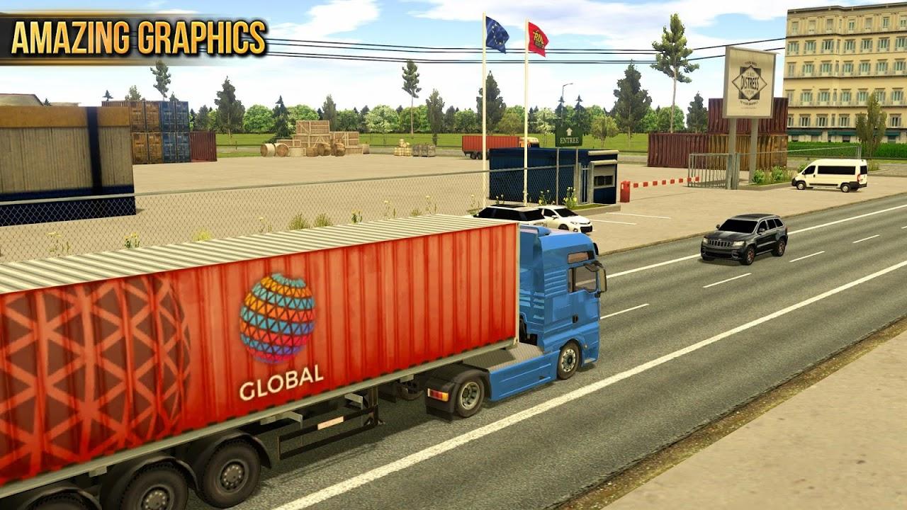 Android Truck Simulator 2018 : Europe Screen 6