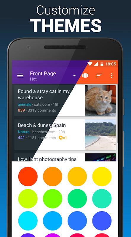 Boost for reddit 1.9.0 Screen 3