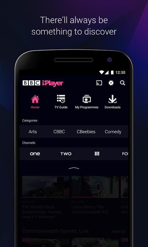 Android BBC iPlayer Screen 3