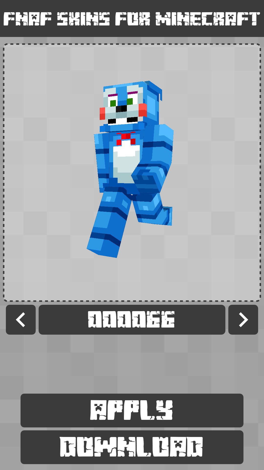 Android FNAF Skins for Minecraft PE Screen 4