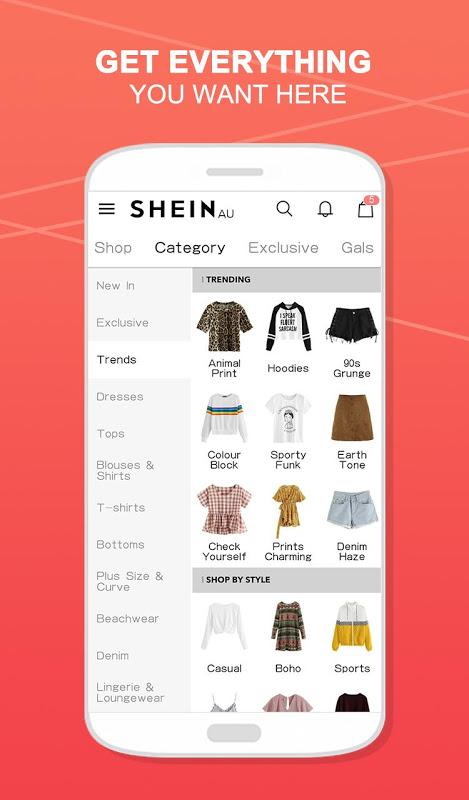 SHEIN - Shop Women's Fashion 6.3.4 Screen 1