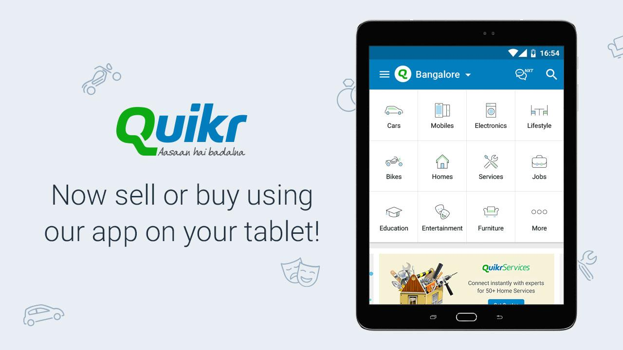 Quikr Free Local Classifieds 9.64 Screen 5