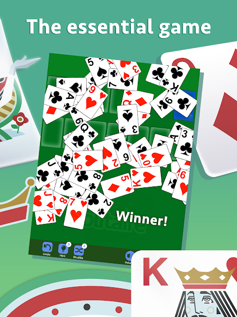 Android Solitaire Screen 10