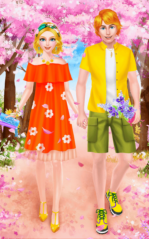 Android Spring Date Flower Spa & Salon Screen 6