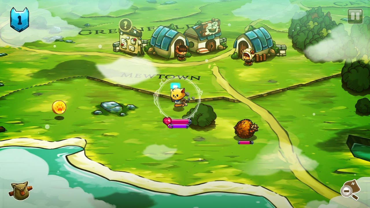 Android Cat Quest Screen 1